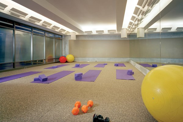 10 Hanover Square Private Fitness Room