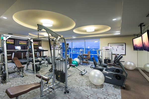 1818 Platinum Triangle Apartments Gym