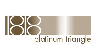 1818 Platinum Triangle Logo