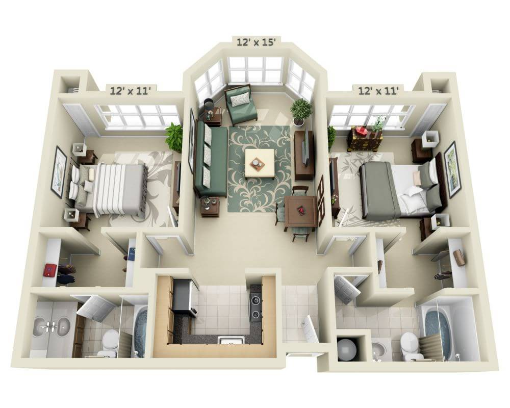 Floor Plans and Pricing for 21 Post Apartments   San Francisco CA