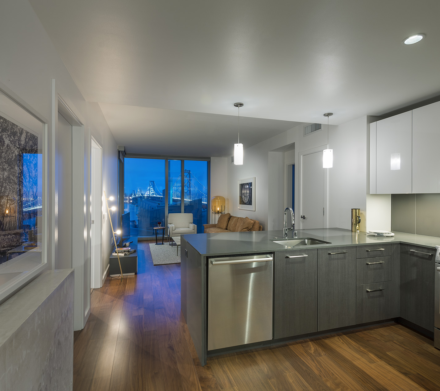 Apartments In San Francisco Bay Area: Photos And Tours Of 399 Fremont