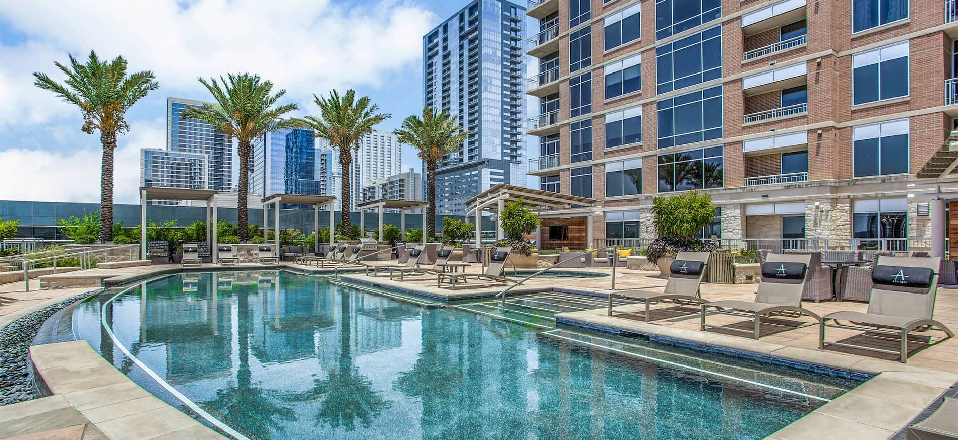 Ashton Austin Penthouses and Apartments in Downtown Austin