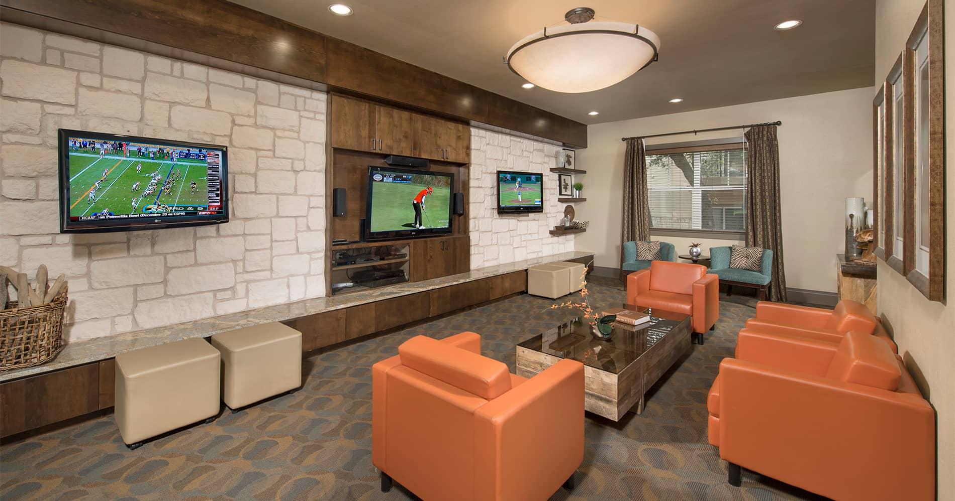 Barton Creek Landing Movie Room