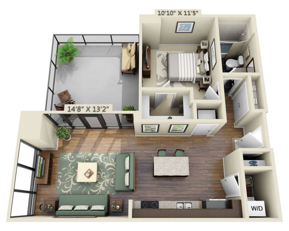Apartments and Pricing for Capitol View on 14th | Washington DC