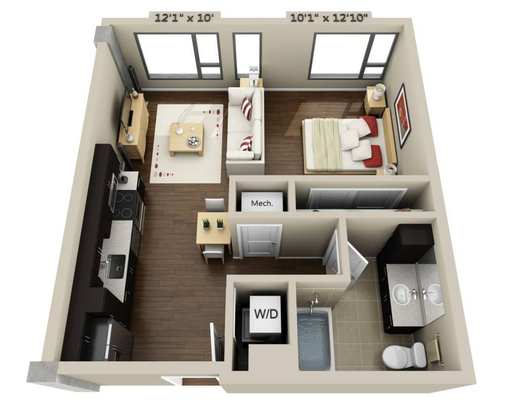 Floor Plans and Pricing for Channel Mission Bay Apartments ...