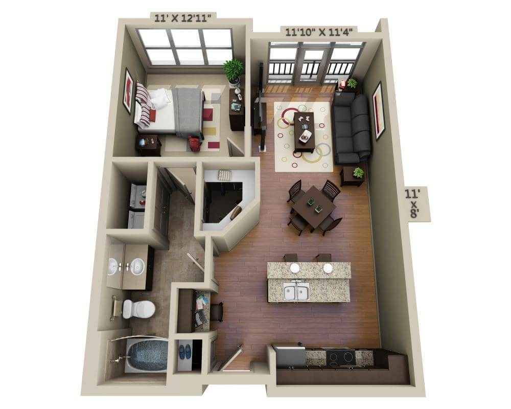 Apartments And Pricing For Domain College Park Washington Dc