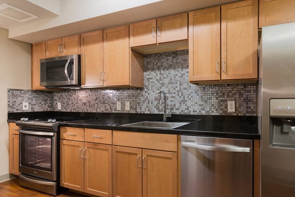 Edgewater Apartment Stainless Steel Appliances