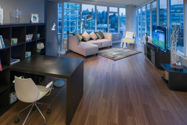 Elements Apartment Wood Plank Flooring