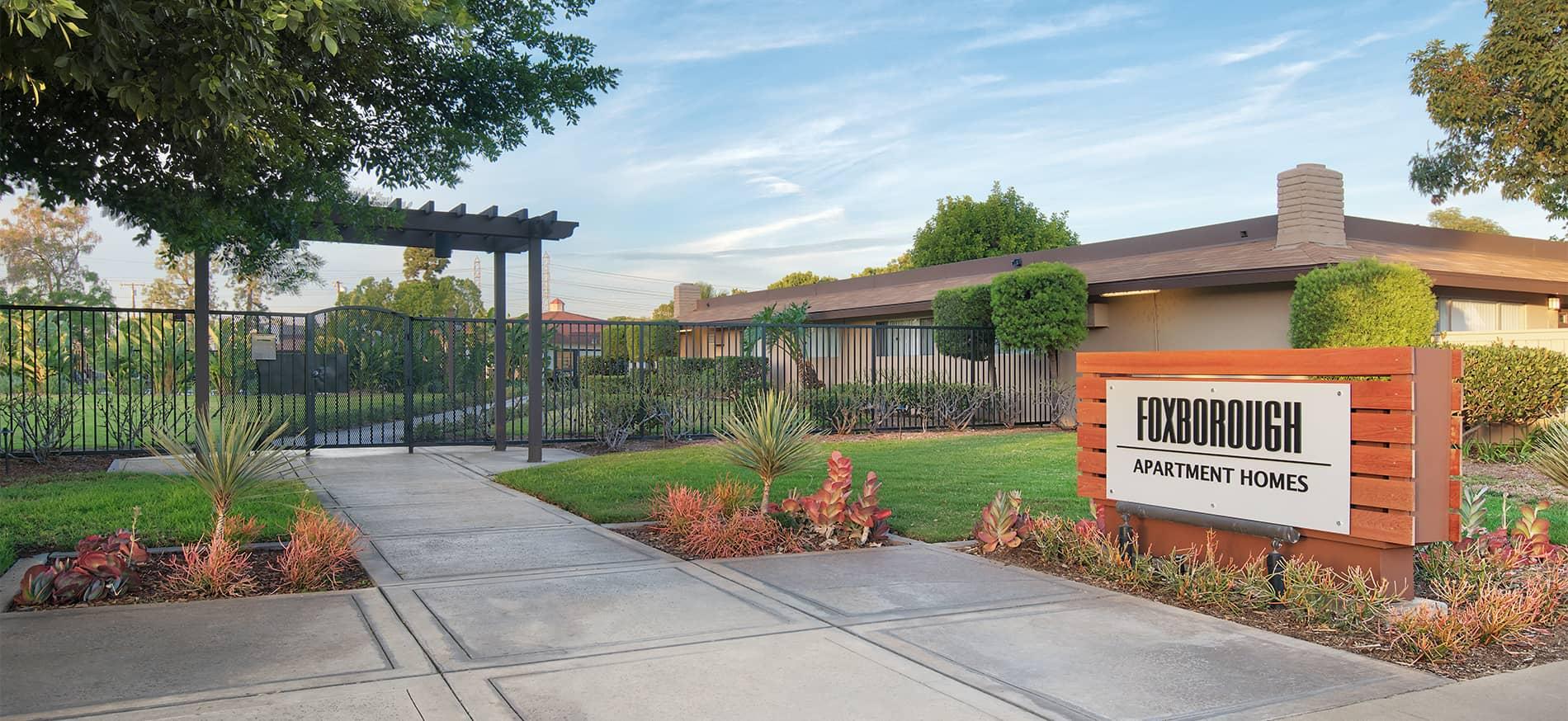 Foxborough Apartments in Orange, CA