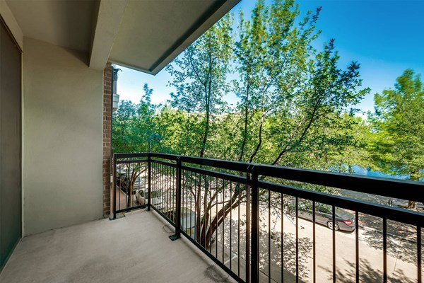 Legacy Village Private Balcony