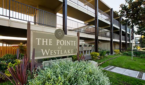 Pointe at Westlake Sign