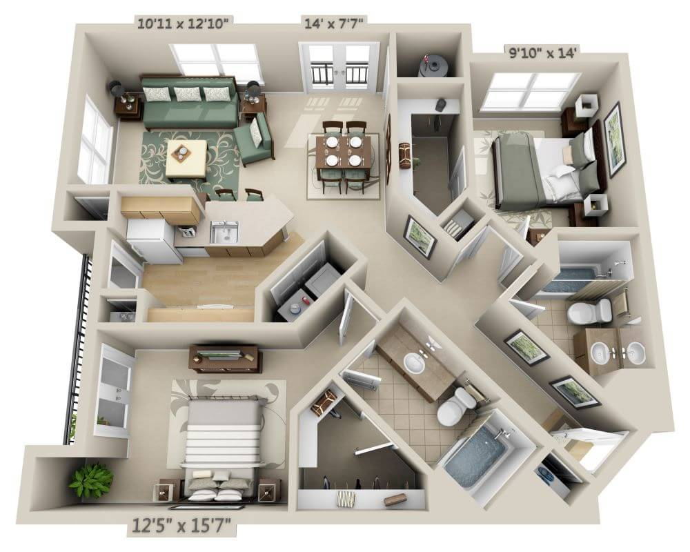 Apartments and Pricing for Sullivan Place | Washington DC