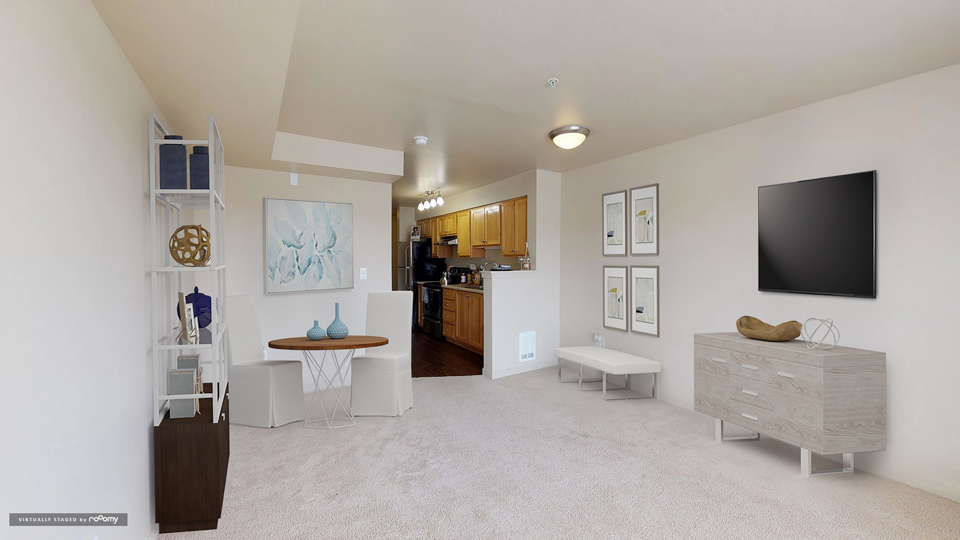 Apartments The Kennedy Building Living Room E1a Thekennedy 2018 Unit406 Kit1 Mp