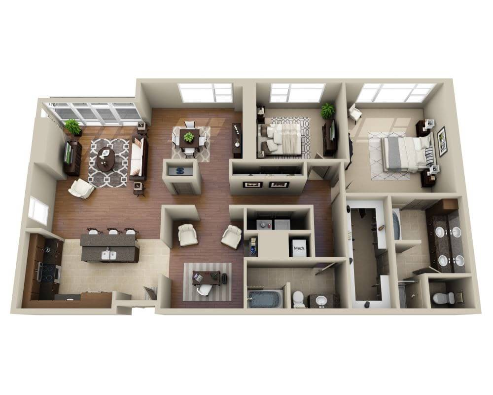 Floor Plans and Pricing for The Olivian | Seattle WA