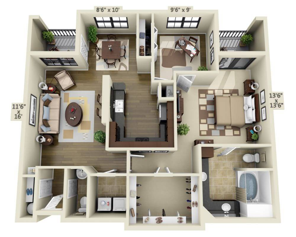 apartments and pricing for thirty377 dallas