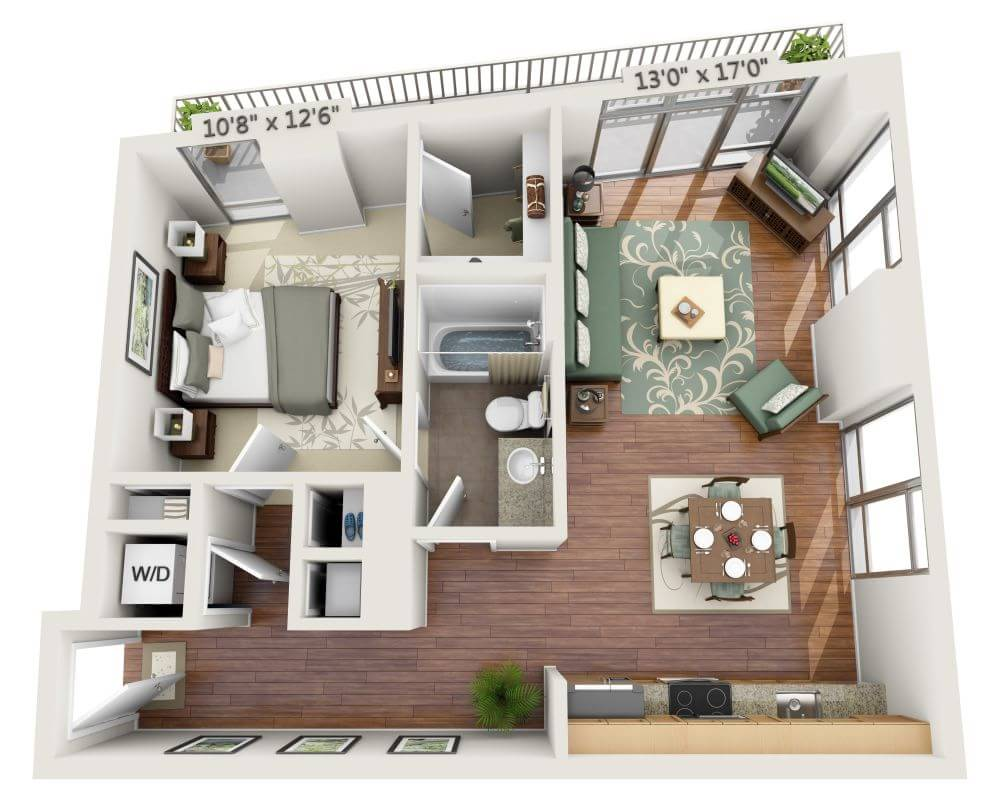 Apartments And Pricing For View 14 Washington Dc