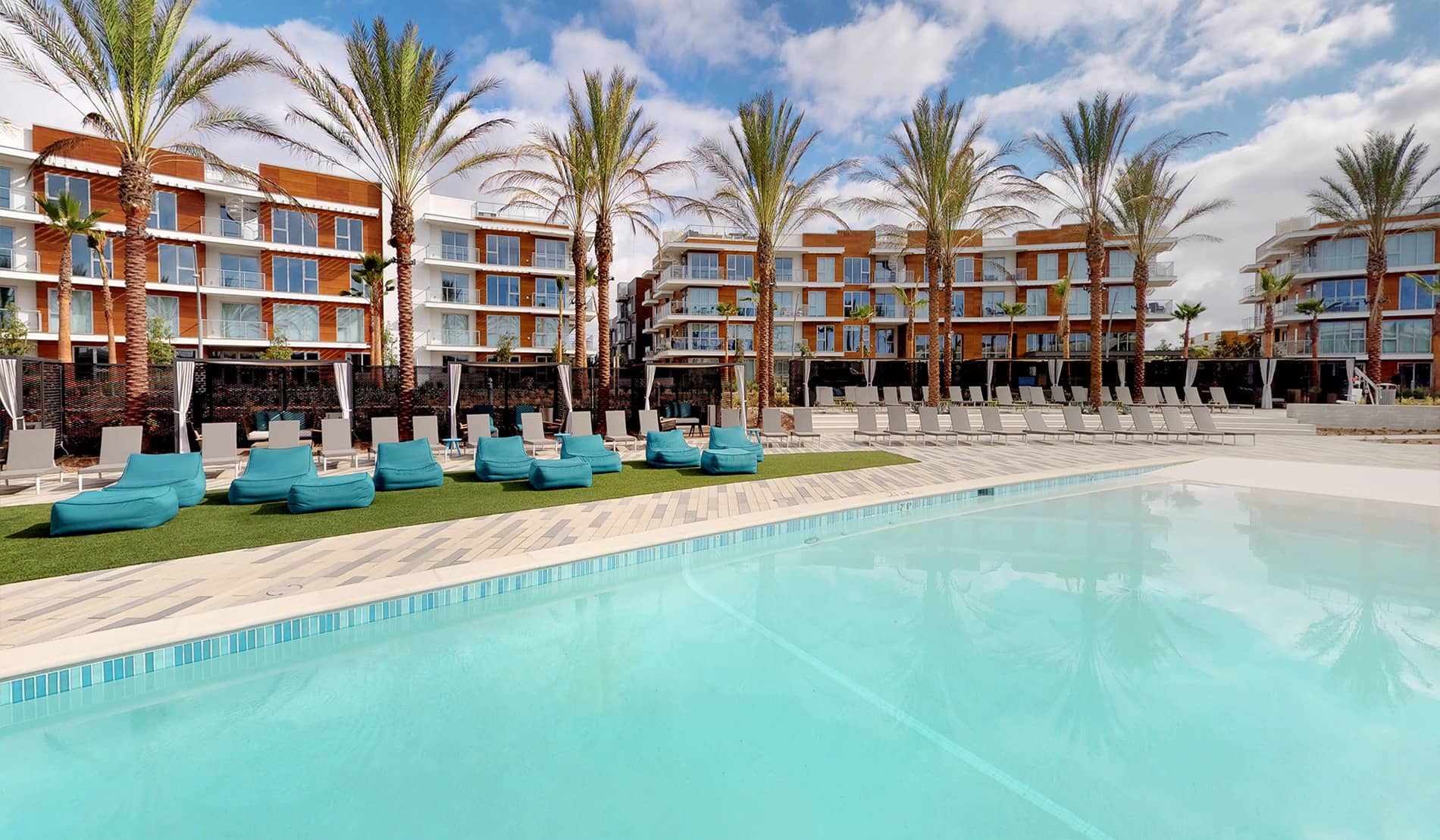 The Residences at Pacific City Apartments Pool