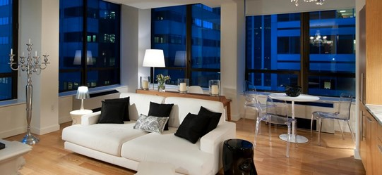 New York City Apartment Living Room